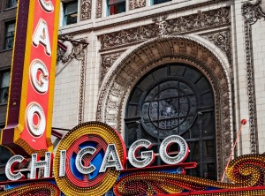 chicago theater state street facade
